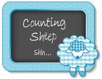 小羊羔苗圃框架 免版税库存照片