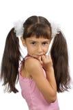 小美丽的女孩 库存图片