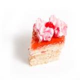 小美丽的酥皮点心,小五颜六色的甜点结块 库存照片