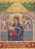 小耶稣・玛丽贞女 免版税库存照片