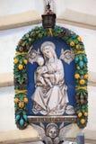小耶稣・玛丽贞女 库存照片