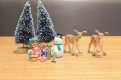 小耶稣形象基督徒诞生场面  库存照片