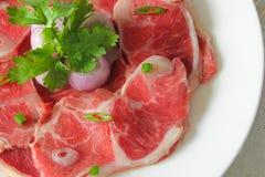 小腿牛肉 免版税库存图片