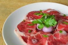 小腿牛肉 免版税图库摄影