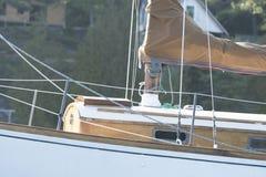 小船一次美好的冒险  免版税库存图片