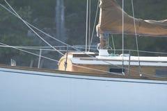 小船一次美好的冒险  库存图片