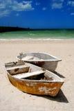 小船一点 免版税库存照片