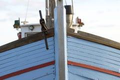 小船丹麦捕鱼 库存照片