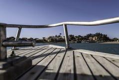 小船乘驾埃及 图库摄影