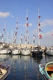 小船伊斯坦布尔显示 免版税图库摄影