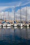 小船伊斯坦布尔显示 免版税库存照片