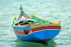 小船传统的马耳他 库存图片