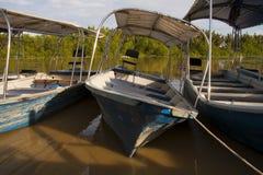小船倾斜 图库摄影