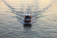 小船前面 库存图片