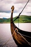 小船北欧海盗 免版税库存图片