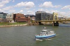 小船匹兹堡航海者 图库摄影
