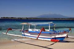 小船印度尼西亚语 免版税图库摄影