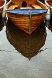 小船反映 免版税图库摄影