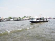 小船和河 库存图片
