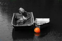 小船和浮体 图库摄影