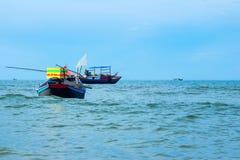 小船和海运 库存照片