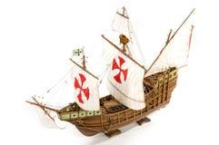 小船哥伦布 库存照片