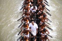小船喀拉拉种族 免版税库存照片