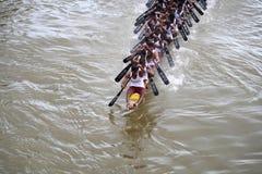 小船喀拉拉种族 免版税库存图片