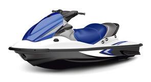 小船喷气机滑行车 免版税库存照片
