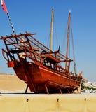 小船在博物馆 免版税库存图片