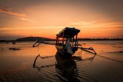小船在印度尼西亚 免版税图库摄影