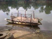 小船在斯里兰卡 库存图片