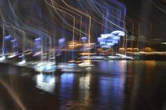 小船在泰晤士 免版税库存照片
