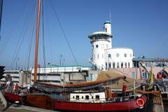 小船在港口 库存图片
