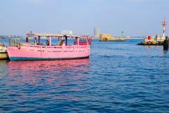 小船在英亩 免版税库存照片