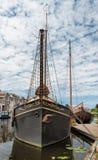 小船在荷兰 免版税库存照片