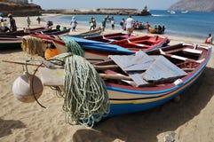 小船在非洲 免版税库存照片
