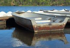 小船在水中 免版税图库摄影