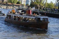 小船在晴天 图库摄影