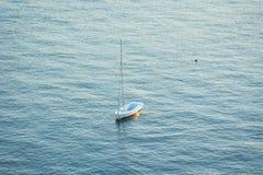 小船在3月Menor 库存图片