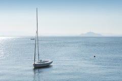 小船在3月Menor 免版税库存图片
