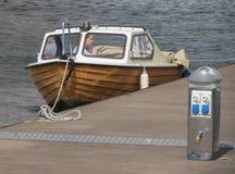 小船在Goteburg 免版税库存图片