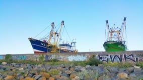 小船在Howth 免版税图库摄影