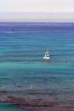 小船夏威夷风帆waikiki 图库摄影