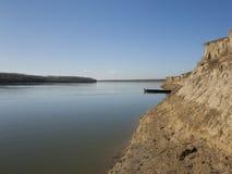 小船多瑙河 库存图片