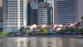 小船奎伊在新加坡 免版税图库摄影