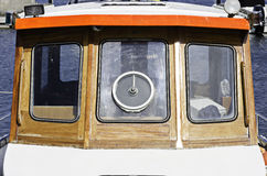 小船小屋/窗口 库存图片