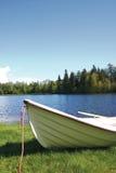 小船小的芬兰 免版税库存图片