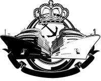 小船巡航豪华符号假期 免版税库存图片