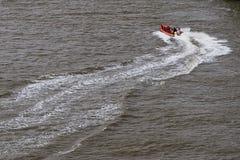 小船抢救 图库摄影